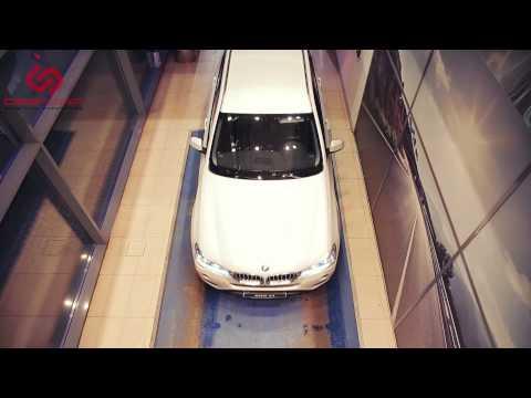 Камера переднего обзора с выводом на штатный монитор - на примере BMW X3