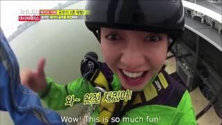 getlinkyoutube.com-Running Man  Song Ji Hyo Bungee Jump 133]