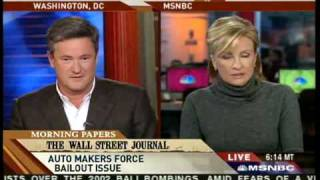 """""""Morning Joe"""" Scarborough Says """"Fuck You"""" On The Air"""