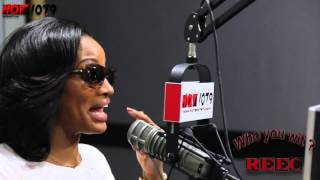 Life After Love & Hip Hop - Erica Dixon's Exclusive Interview With Reec on Hot 107.9