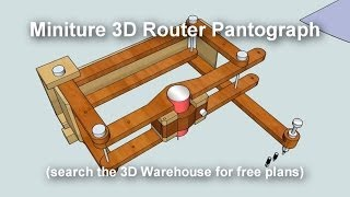 getlinkyoutube.com-Miniature 3D Pantograph Router