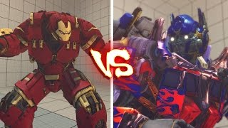 getlinkyoutube.com-Ultra street fighter 4 PC - Hulk Buster vs Optimus Prime