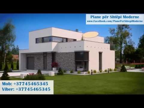 Plane për Shtëpi Moderne - Kodi 029 - Versioni 3D