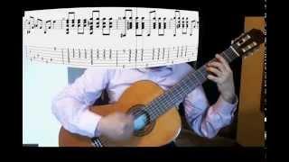 getlinkyoutube.com-Titanic Guitar cover  with score (My Heart Will Go On)