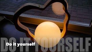 getlinkyoutube.com-DIY Designer Lampe selbst gemacht Anleitung
