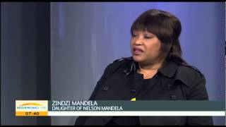 Zindzi Mandela on how she will be celebrating her Mandela Day