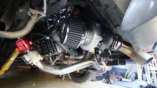 Garrett Turbo Upgrade in OldSchool 911 - Pt2