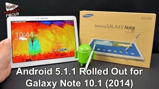 getlinkyoutube.com-Android 5.1.1 Rolled Out for Wi-Fi-only Galaxy Note 10.1 (2014)
