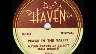 getlinkyoutube.com-The Flying Clouds Of Detroit - Peace In The Valley - 1946 (Original)