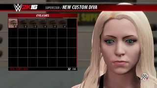 getlinkyoutube.com-WWE 2K16: CREATE A DIVA
