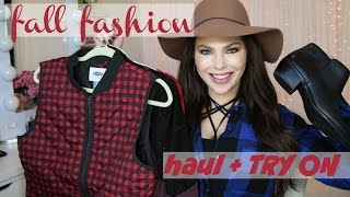 getlinkyoutube.com-Fall Fashion HAUL + TRY ON