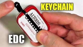getlinkyoutube.com-Altoids SMALLS Survival Kit: Keychain Carry