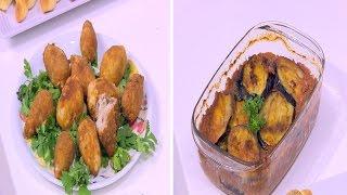 صينية باذنجان باللحمة - كبيبة البطاطس بانيه - كرواسون بالزعتر - مربى جزر | على قد الأيد حلقة كاملة