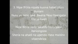 NIPE BIBLIA  NYIMBO ZA KRISTO  HYMN by Juma Joe