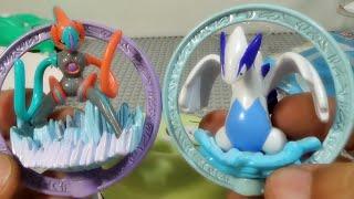 getlinkyoutube.com-루기아 포켓몬스터 DP 스핀링, 회전해 상대와 게임을 할수 있는 반다이 장난감