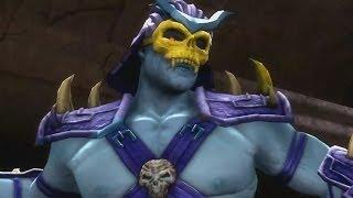 getlinkyoutube.com-Mortal Kombat Komplete Edition - Skeletor / Panther - Costume/Skin *Mod* (HD)