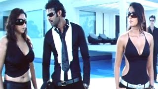Comedy Scene Between Prabhas, Anushka, Namitha || Billa Movie