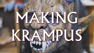 getlinkyoutube.com-Making Krampus: Halloween Mask to Krampus Mask