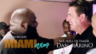Rick Ross & MMG au match des Dolphins rencontrent Dan Marino