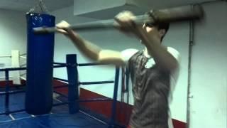 Круговая тренировка боксеров... В гостях Давид Аванесян.