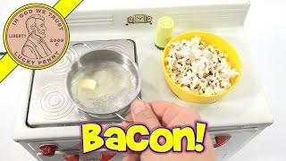getlinkyoutube.com-Popcorn & Butter Little Chef Kids Oven Mini Food Cooking