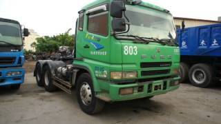 getlinkyoutube.com-2005 FUSO SUPER GREAT USED TRACTOR TRUCK (630-M8)
