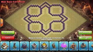 getlinkyoutube.com-Clash of Clans - Town Hall 8 O+ Mini Trophy/Clan War Base + Speed Build 2014 w/ 4th Mortar