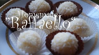 "getlinkyoutube.com-Homemade ""Raffaello"" Candy حلوى ""رفاييلو"" المنزلية"