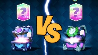 SUPER MAGICAL CHEST VS 12 WINS CHEST | Clash Royale | Level Up Legendaries