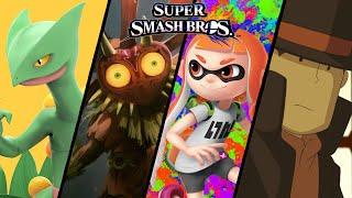 getlinkyoutube.com-More Super Smash Bros TOP 10 Fan-Made Trailers - Sceptile, Inkling's & More (Wii U)