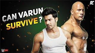 The Rock vs Varun Dhawan (Judwaa 2 Movie) Full Match WWE Fighting Games