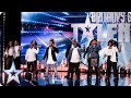 Revelation Avenue roar straight into the semi-finals! | Britains Got Talent 2015