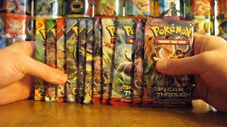 getlinkyoutube.com-11 Pokemon Booster Pack Opening