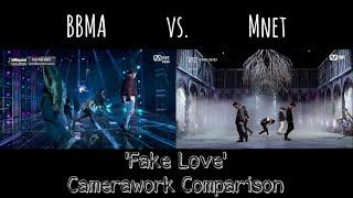 BTS   'Fake Love' BBMA's (USA) Vs. Mnet (Korea) Camerawork & SFX (LIVE) [2018]