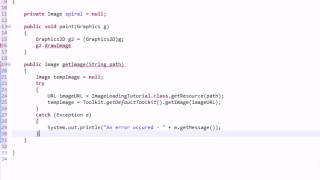 getlinkyoutube.com-Learning Java: Part 25: Loading and Displaying Images