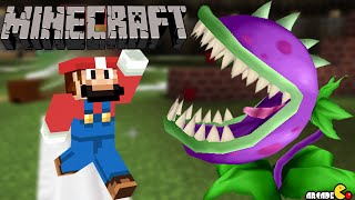 getlinkyoutube.com-SUPER MARIO Minecraft Mod Plants Vs Zombies 2 Birthday Party!