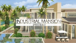The Sims 4 - Speed Build - Industrial Mansion
