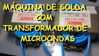 getlinkyoutube.com-Máquina de solda com transformador de microondas 1/2