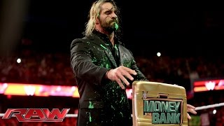 getlinkyoutube.com-Dean Ambrose plays a messy prank on Seth Rollins: Raw, Sept. 29, 2014
