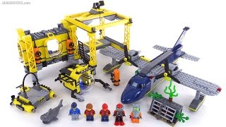 getlinkyoutube.com-LEGO City Deep Sea Operation Base review! set 60096