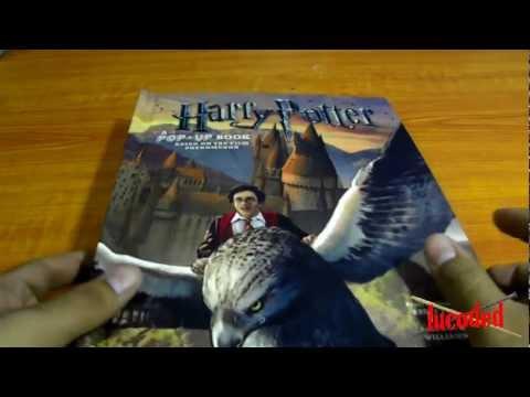 libro harry potter pop up book (español)