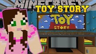 getlinkyoutube.com-Minecraft: LIVING ROOM - TOY STORY - Custom Map [2]
