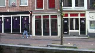 NEW red light district windows in Amsterdam