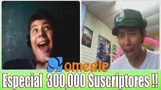 SORPRENDIENDO A FANS EN OMEGLE.COM - Especial 300,000 Suscriptores