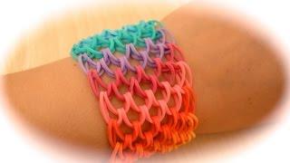 getlinkyoutube.com-Rainbow Loom Dragon Scale Armband (deutsche Anleitung)