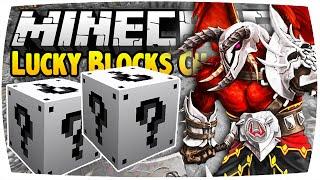 getlinkyoutube.com-MINECRAFT: LUCKY BLOCKS CHALLENGE - K'RIL TSUTSAROTH ● Lucky Block Mod Battle + WildyCraft (Deutsch)