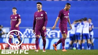 Manchester City crashes out of FA Cup with 1-0 loss to Wigan | ESPN FC