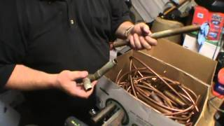 getlinkyoutube.com-Make MORE money scrapping metal Part 1: Copper