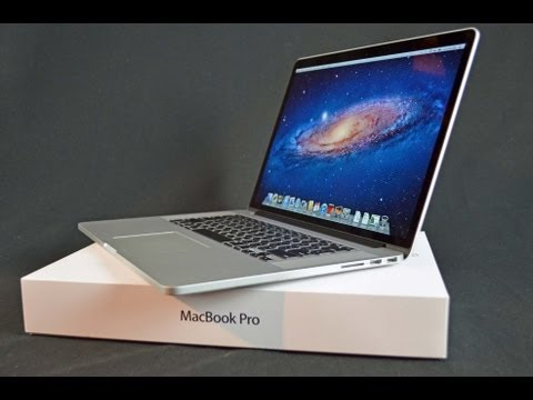 New Retina MacBook Pro: Unboxing and Tour