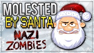 getlinkyoutube.com-Christmas Special - Zombie Nightmare, Rare Weapon, Funny Moments (Call of Duty WAW Zombies)